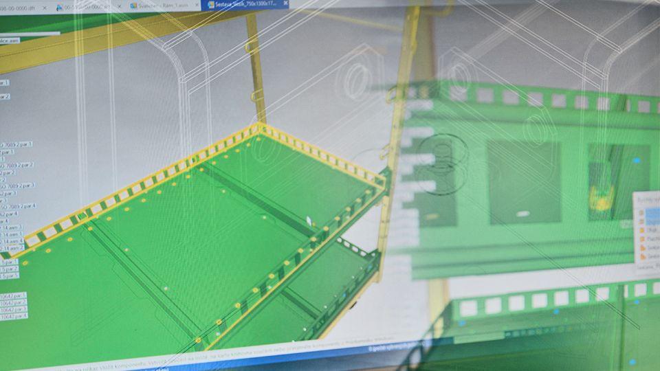 3D konstruování a vizualizace