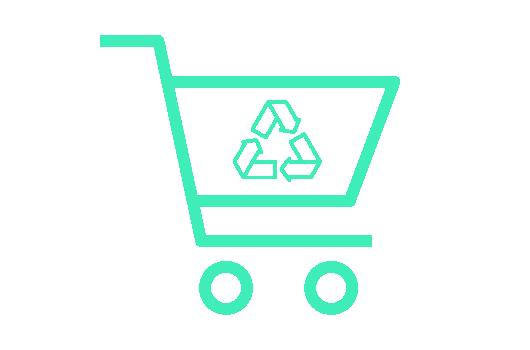 Recyklace plastových nákupních vozíků