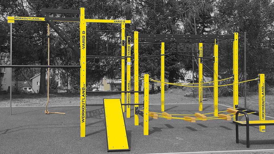 Workoutland - venkovní tělocvičny a workoutová hřiště